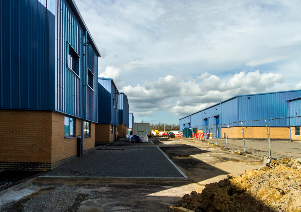 Large Commercial Installations Construction Site
